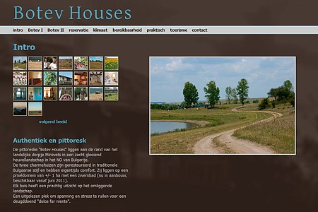website Botev Houses